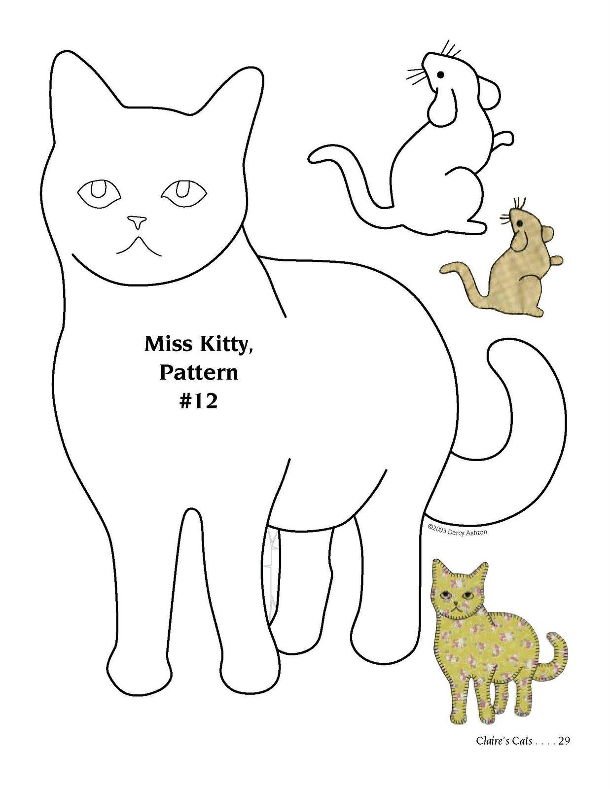 Трафареты кошек и котов для декора своими руками - Усатики 24
